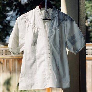 Odille (Anthropologie) Poetess blouse size 0